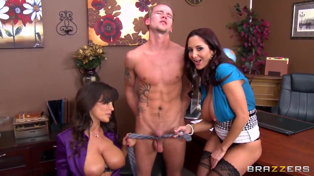 Chastity Lynn Mom Threesome